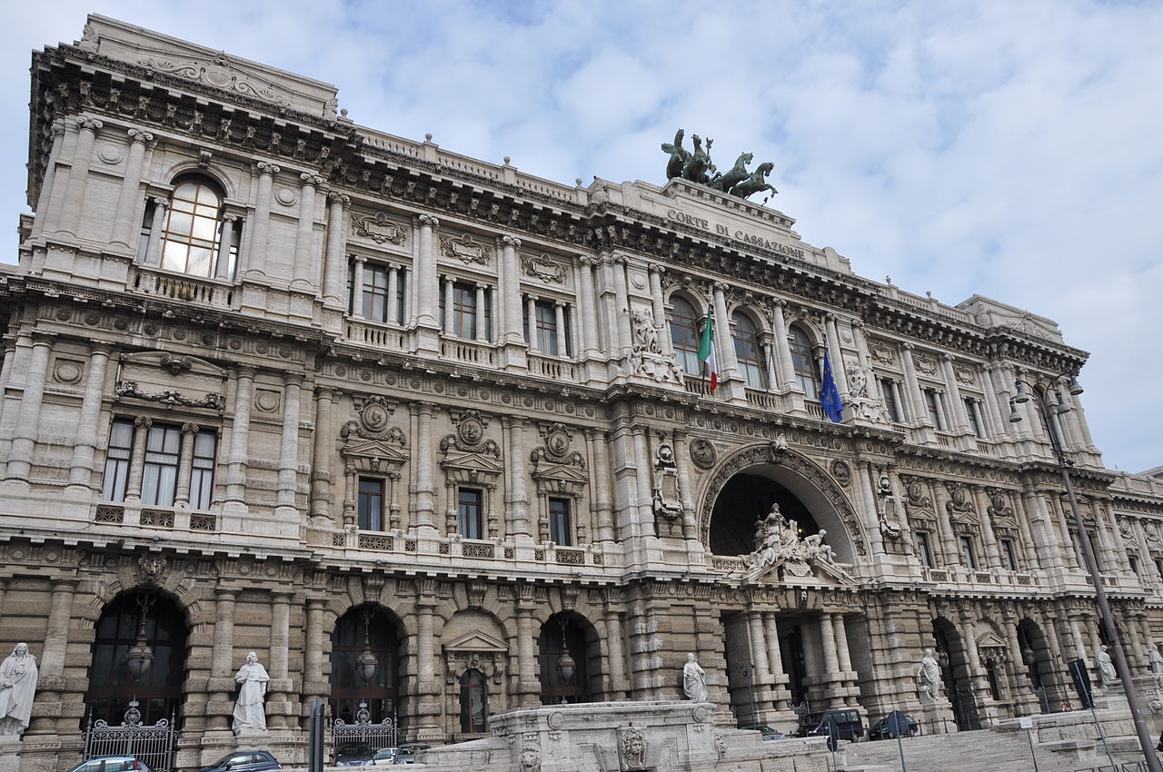 The Palace of Justice in Rome