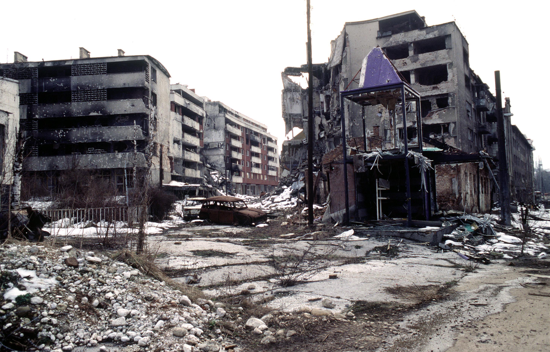 War-torn Sarajevo