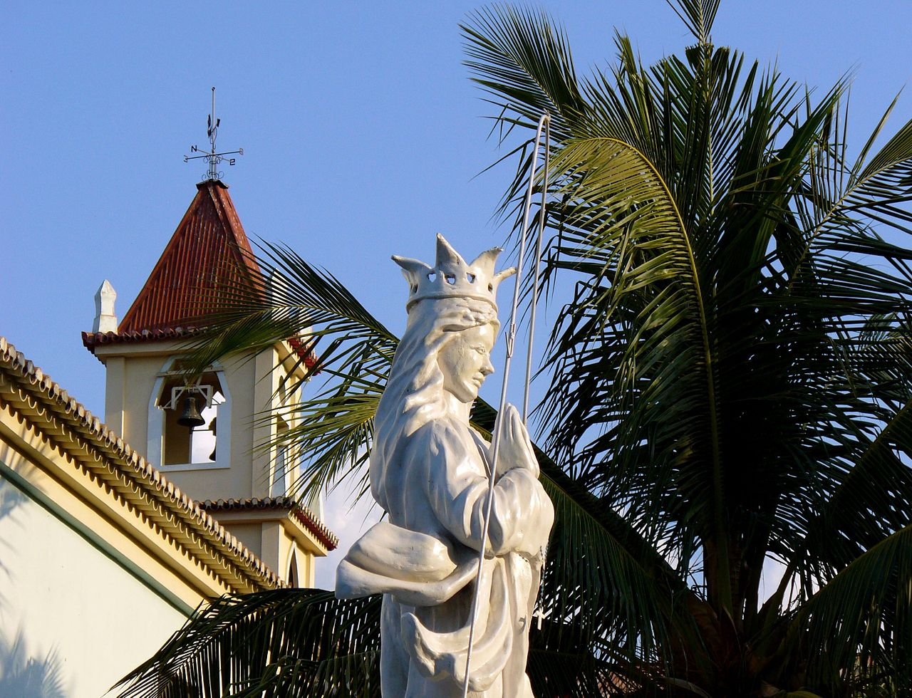 Statue of Our Lady in Balide