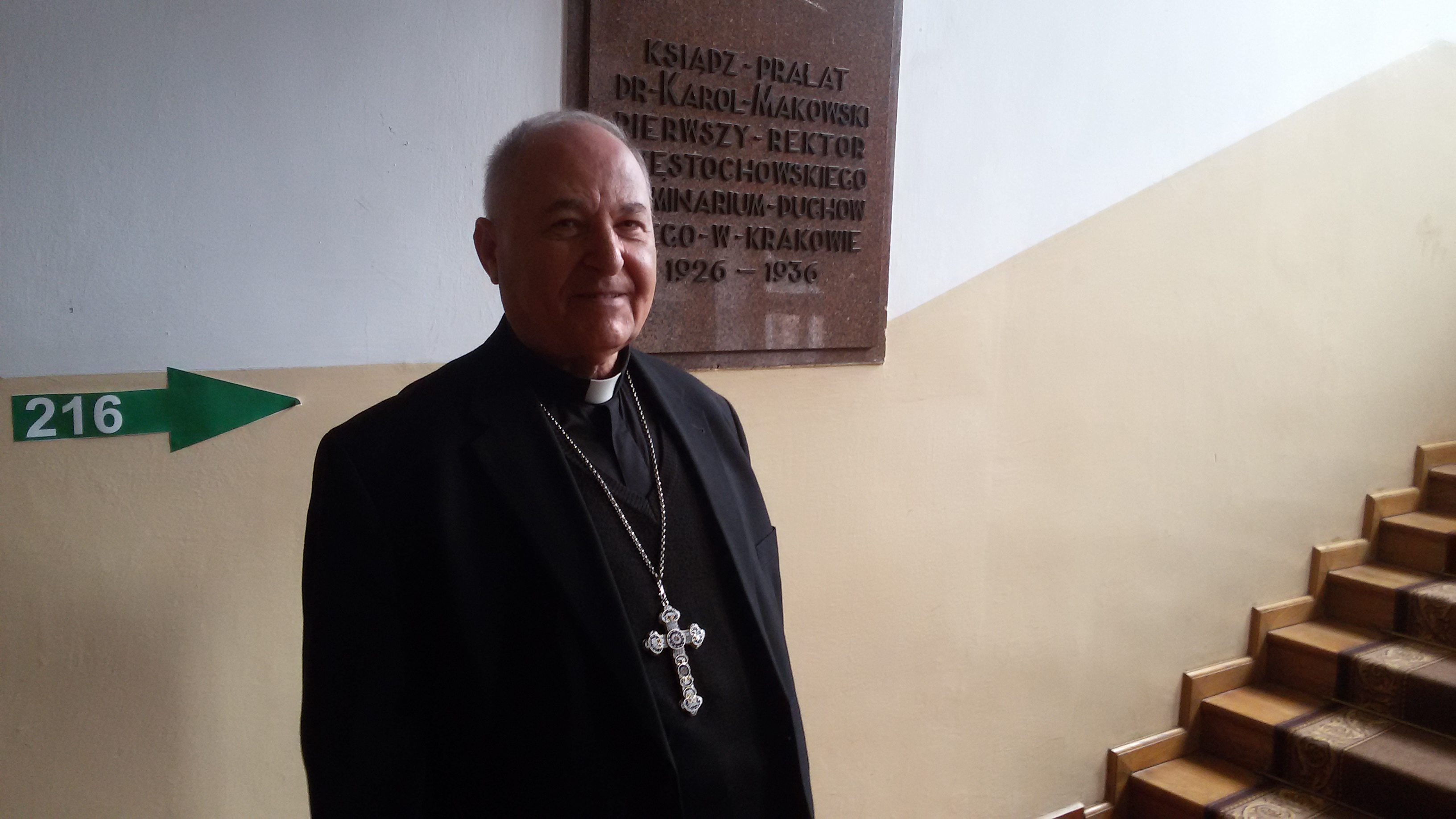 Mgr. Shlemon Warduni - Auxiliary Bishop of the Patriarchate of Babylon