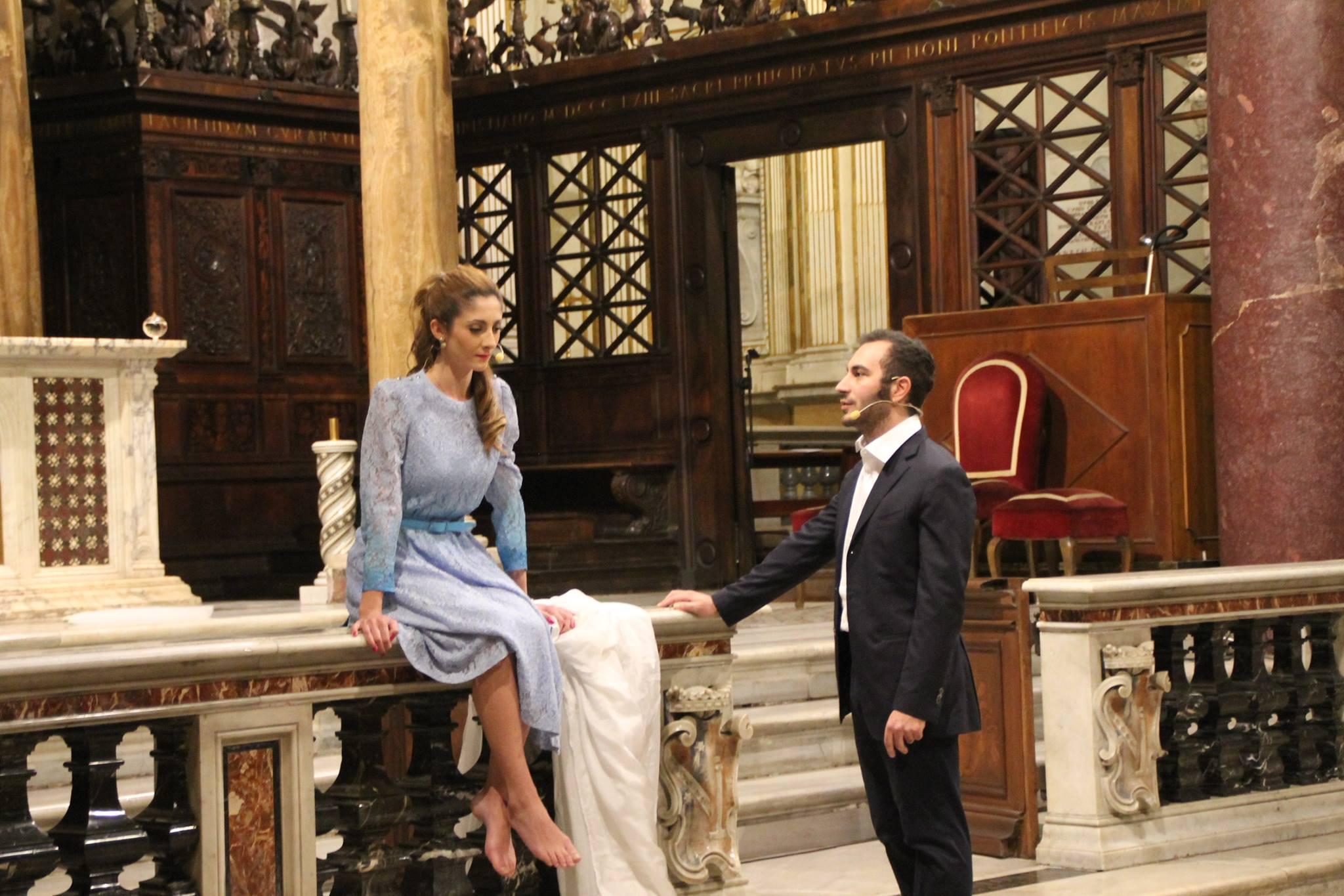 """La bottega dell'orefice"" play by Karol Wojtyla directed by Antonio Tarallo"