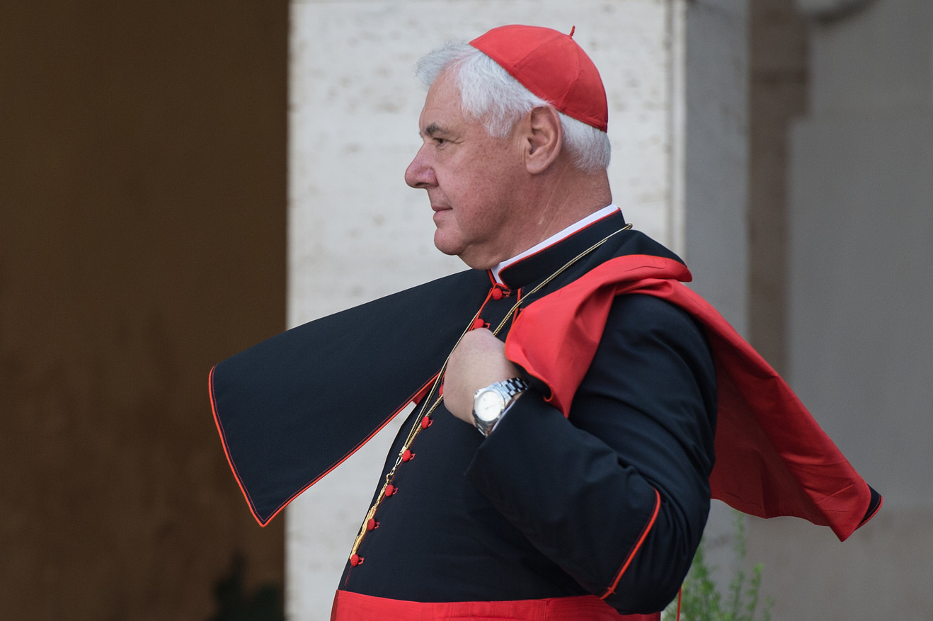 Cardinal Muller during the Family Synod