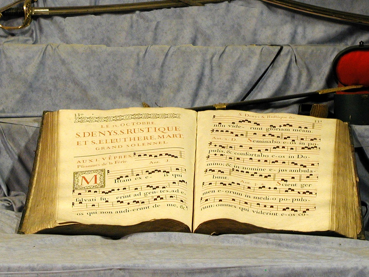 Choral Book with Gregorian Chant