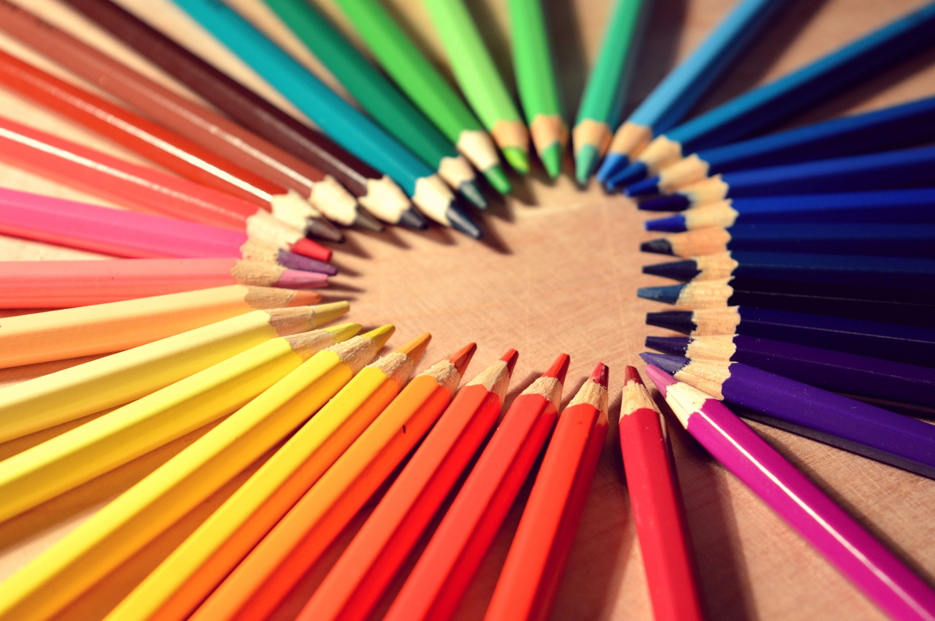 Heart fulll of colors