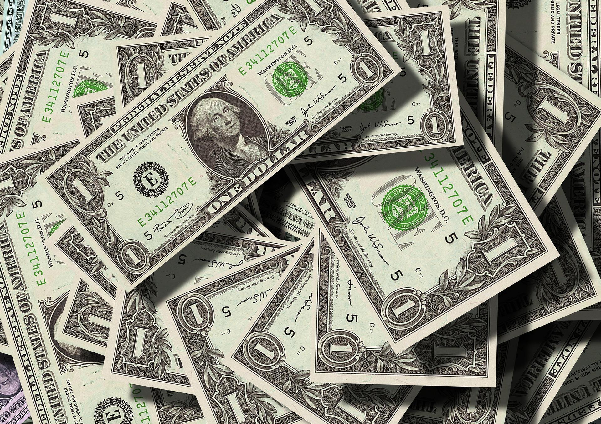 US-Dollar banknotes