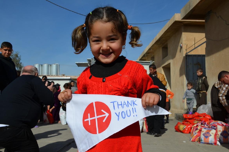 Iraqi child thanked Acn