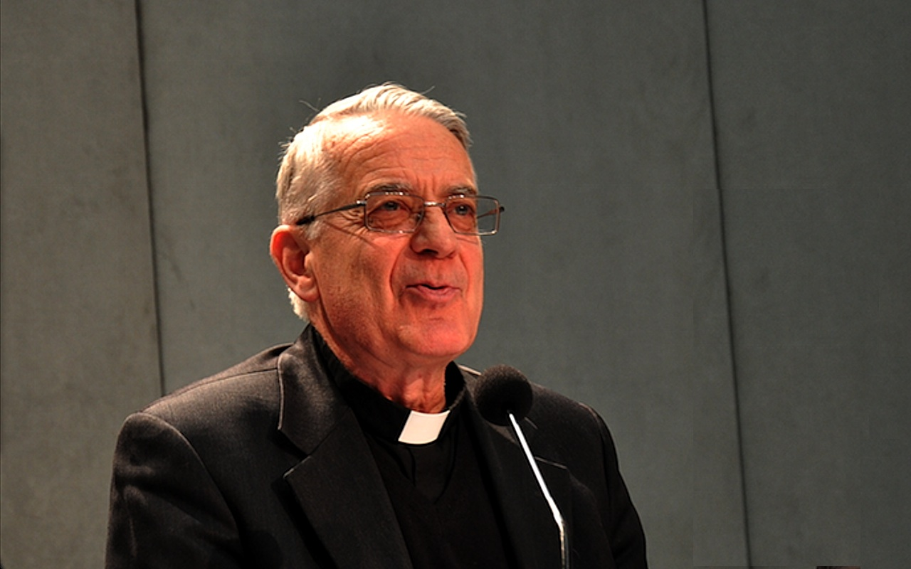 Federico Lombardi chief of Holy See press office