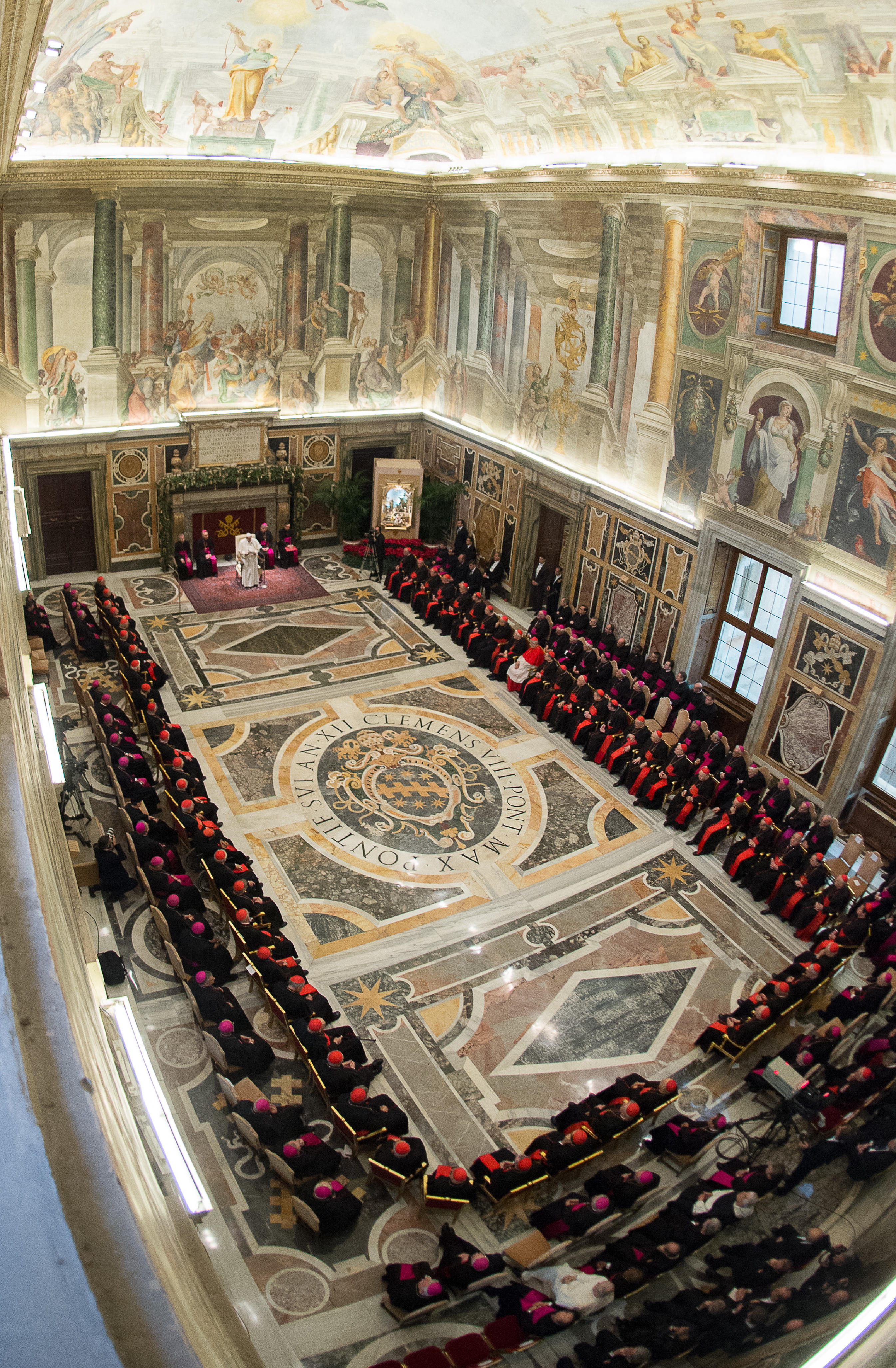 Pope Francis and Roman Curia
