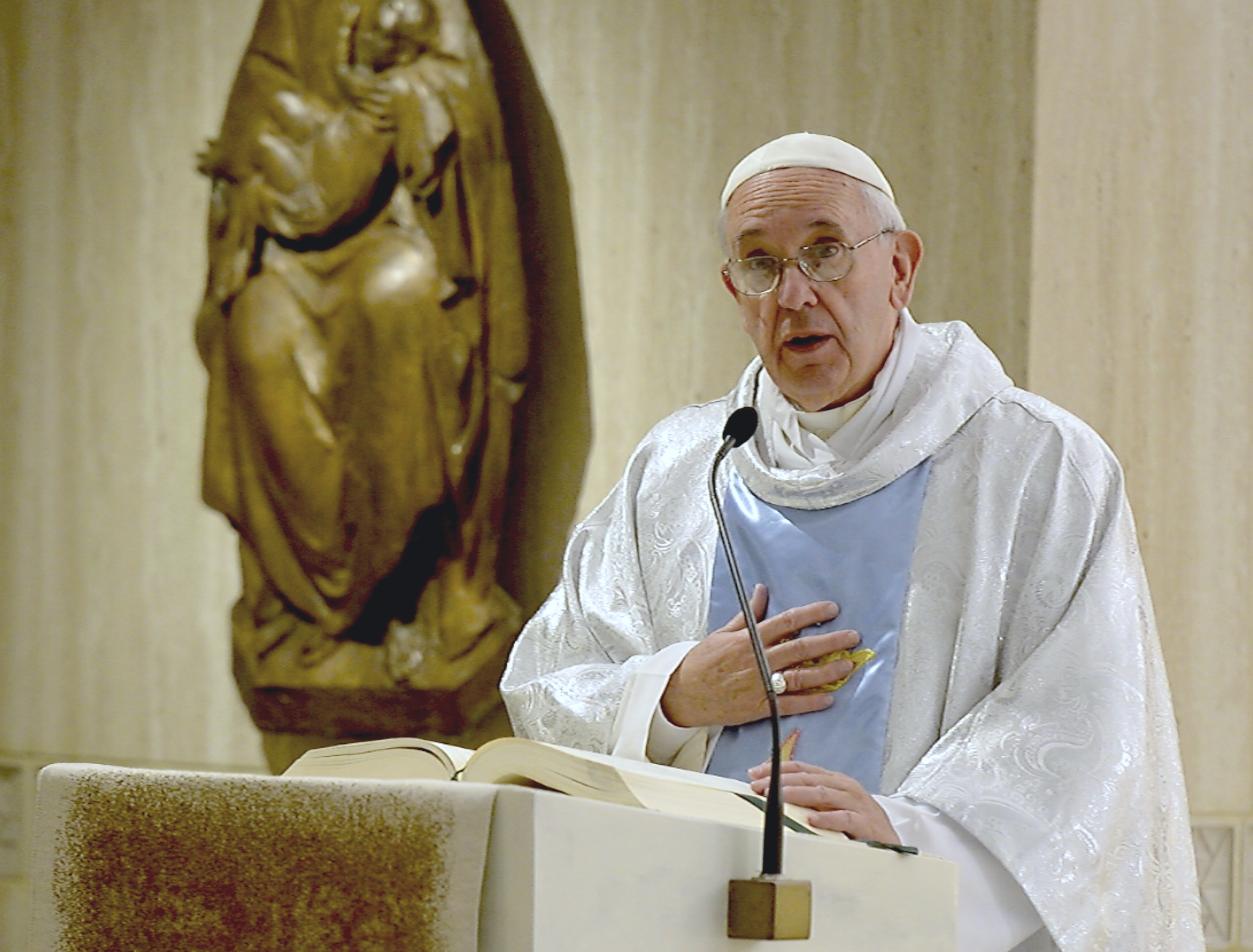 Pope Francis in Santa Marta - 8 September 2015