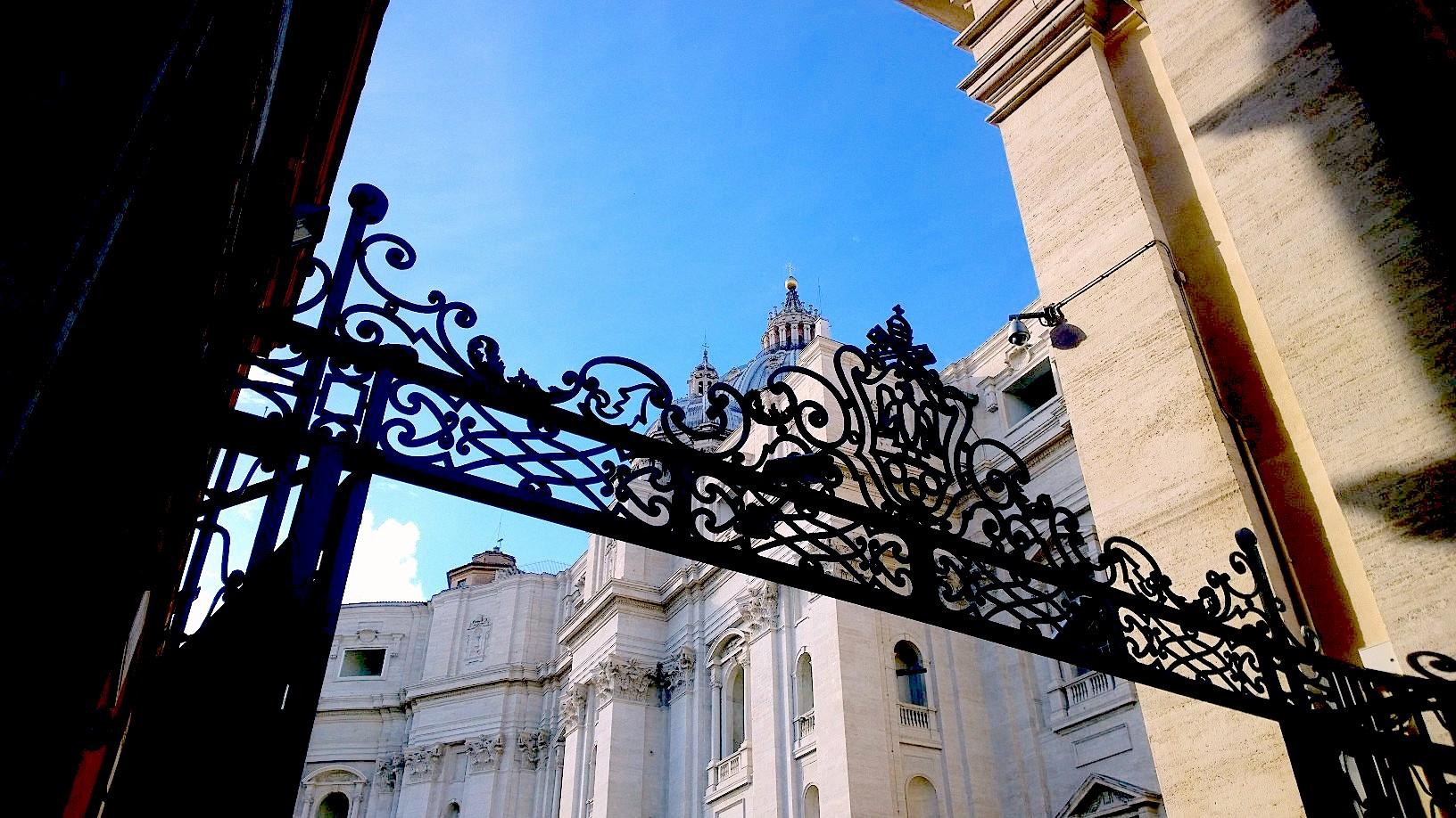 Vatican City and Saint Peter basilic