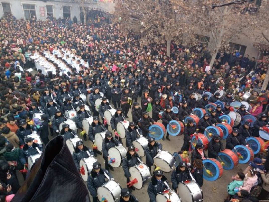 Opening of the Holy Door of Zhengding (China)