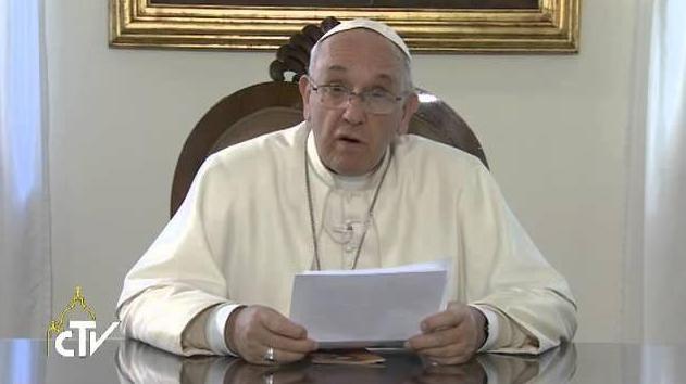 Videomessaggio Papa