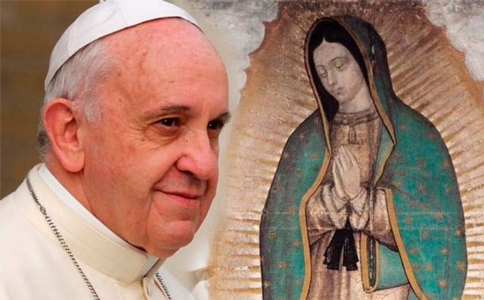 Portale Celam Papa in Messico