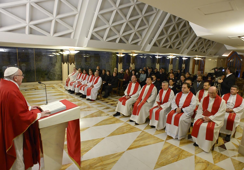 Messa Santa Marta 5 febbraio 2016
