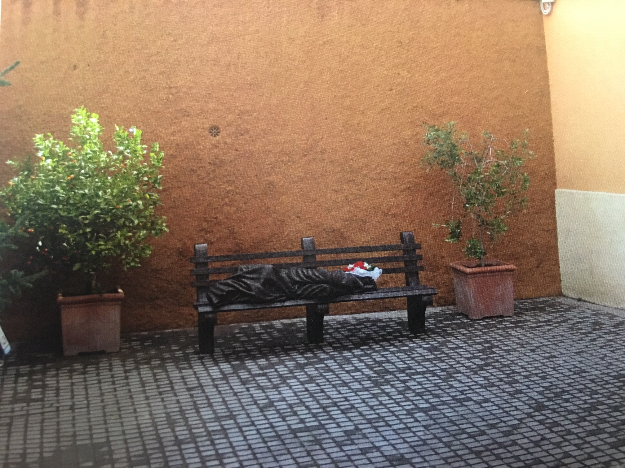"""""""Gesù senzatetto"""" in Vaticano"""