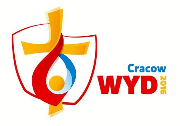 Logo Gmg - Giornata Mondiale della Gioventù Cracovia