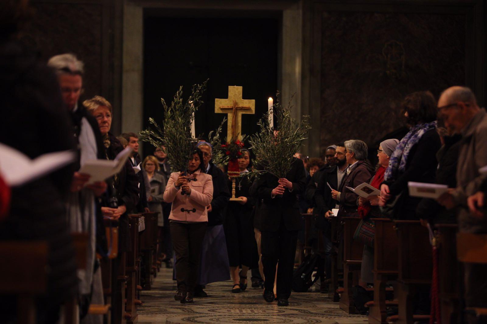 Holy Mass in Santa Maria in Trastevere 22-03-16