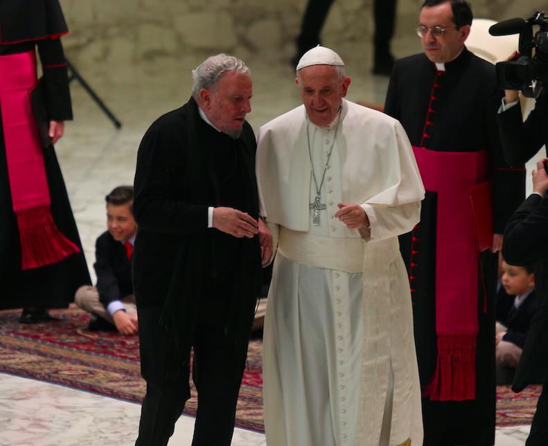 Papa con il Cammino Neocatecumenale