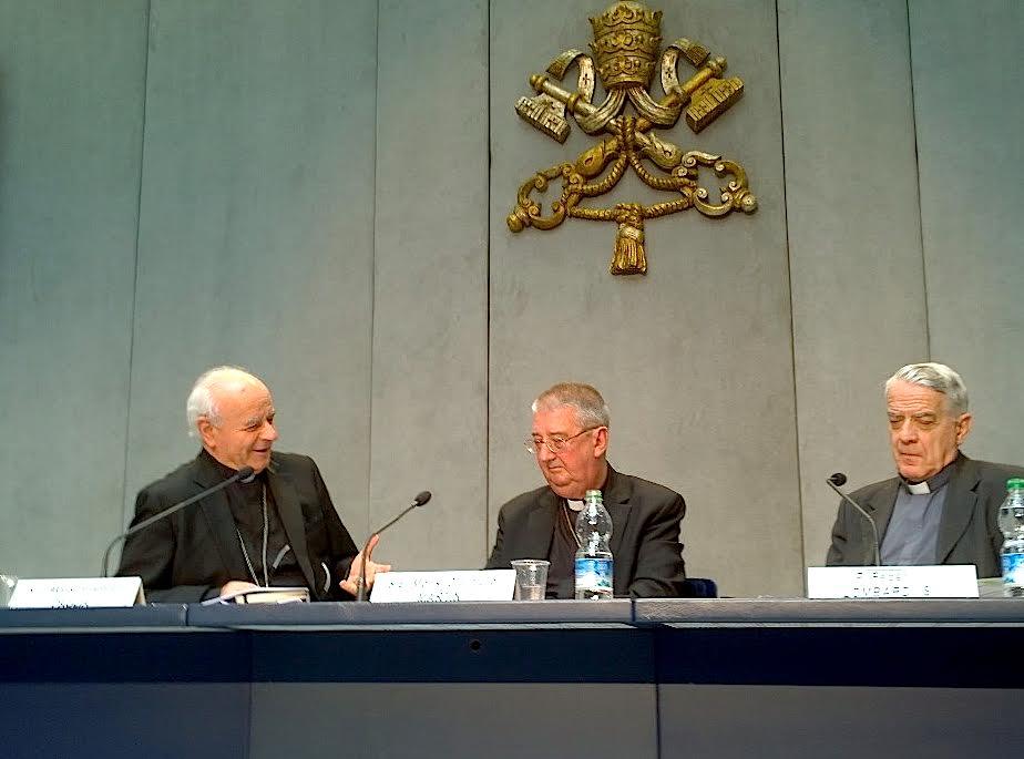 Conferenza stampa Dublino (Zenit HSM)
