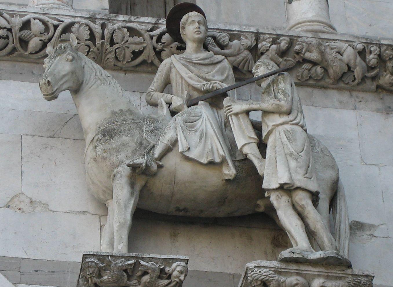 Saint Martin at Duomo of Lucca
