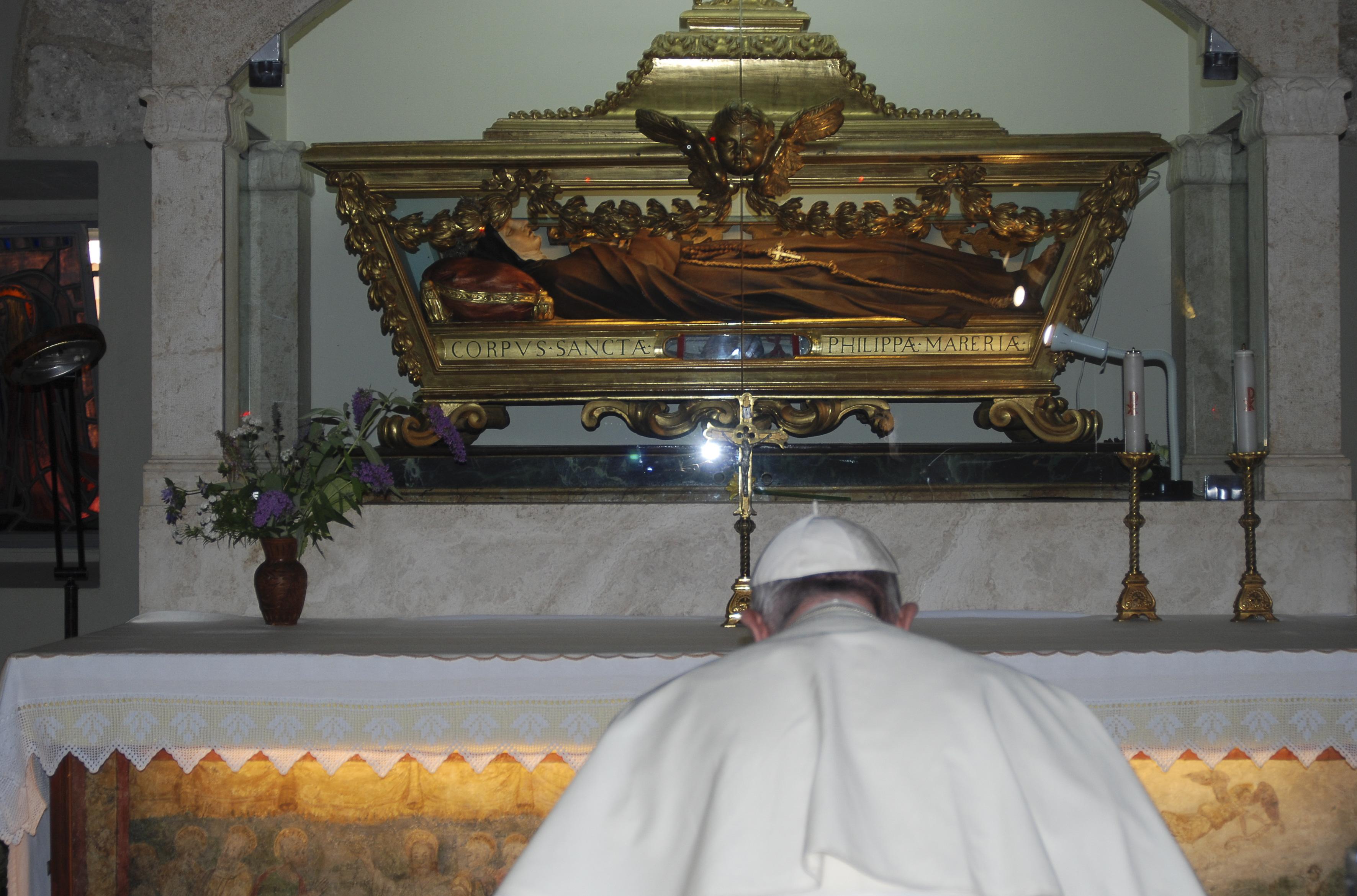 SS. Papa Francesco - Visita Rieti - © Servizio Fotografico - L'Osservatore Romano