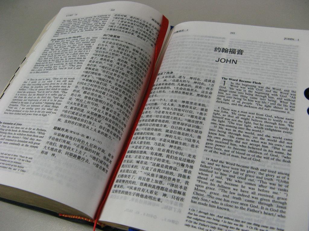 Bible in chinese language