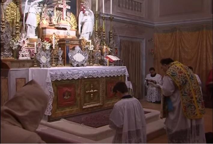 Messa Chiesa Sacro Cuore Tolentino