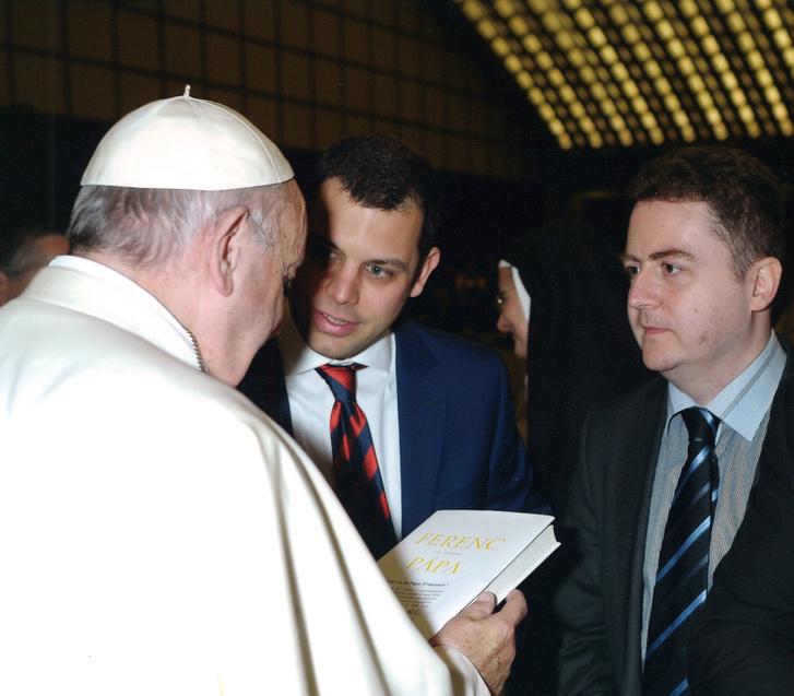 Papa Francesco, Dániel Solymári, Tamás Pallós