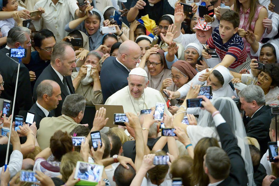Udienza 09/08/2017 © L'Osservatore Romano